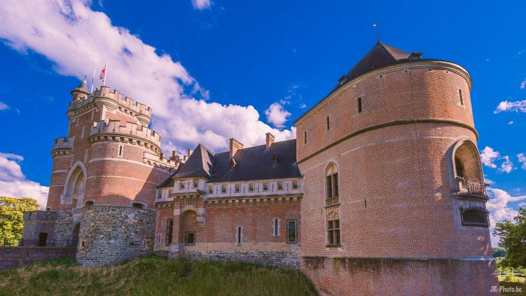 Balade photo en Belgique - Le Château de Gaasbeek